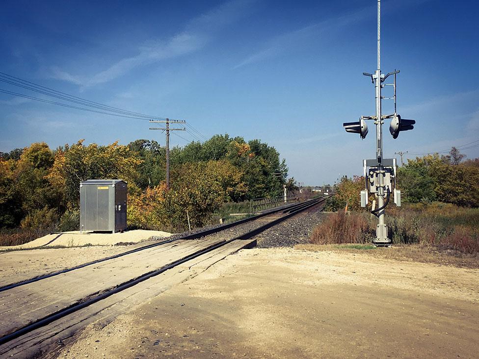 train tracks rural