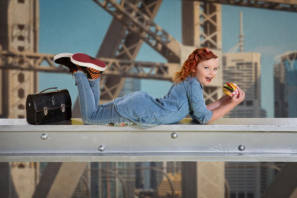 girl rosie the riveter