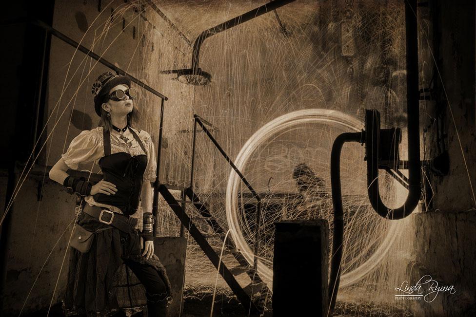 steampunk industrial