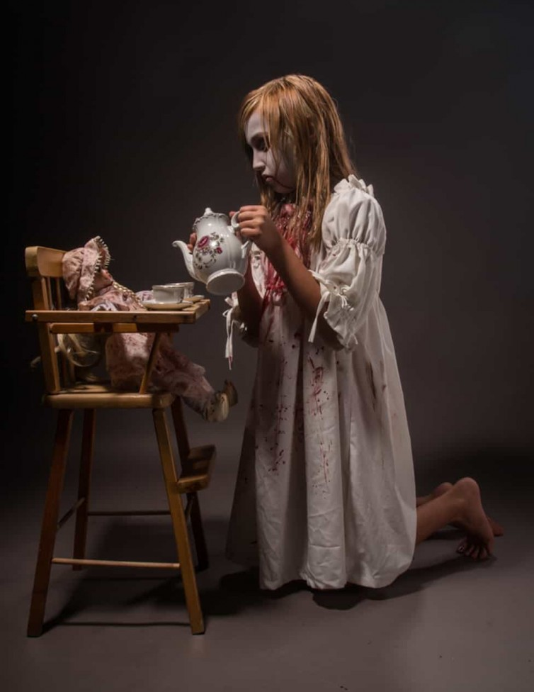 child scary halloween