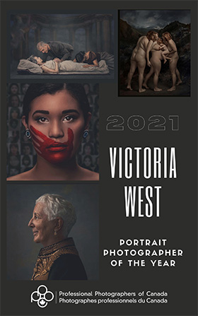 The 4 winning images from National Portrait Photographer of the Year, Victoria West.