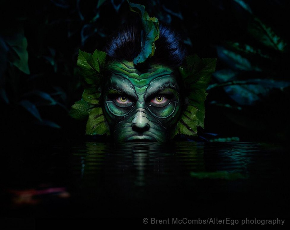 Monster image by Brent McCombs, based on the creature from the black lagoon