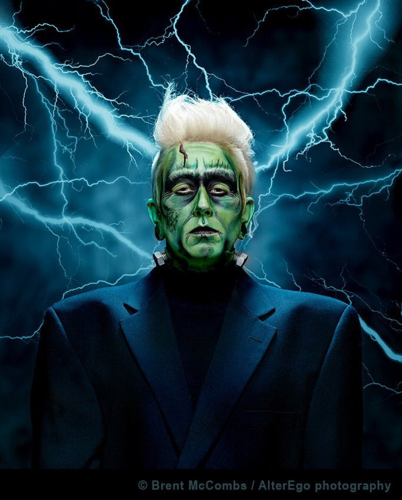 An image of Frankenstein's Monster by Brent McCombs