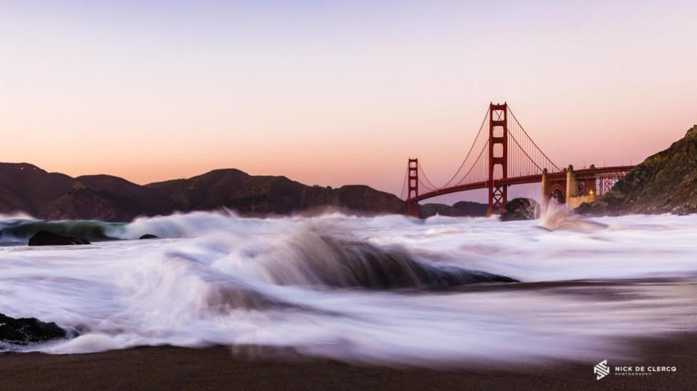 A photo of the Golden Gate Bridge by Nick De Clercq