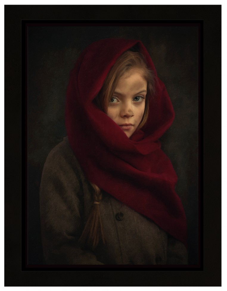 A creative portrait of a poor little girl by Jamie Bard